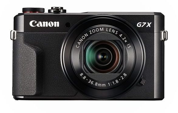 Canon PowerShot G7 X Mark II Digital Camera-Compact Camera