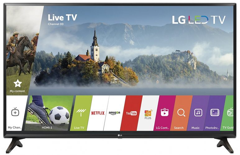 LG Electronics 32LJ550B Smart LED TV
