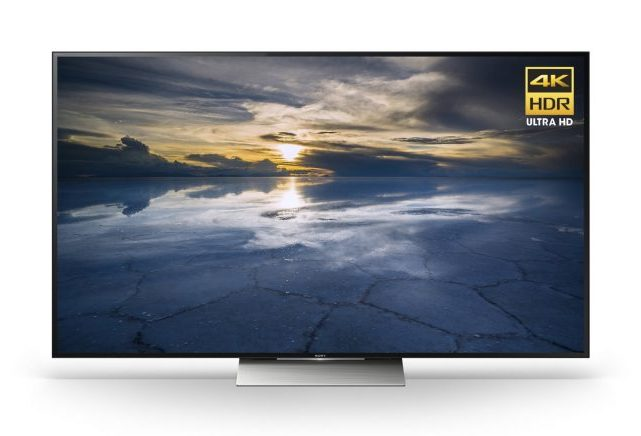 Sony: XBR55X850D 4K Ultra HD Smart TV