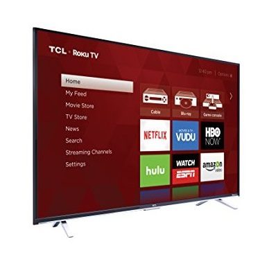 TCL: 4K Ultra HD Roku Smart LED TV
