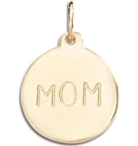 "Helen Ficalora ""Mom"" Disk Charm"
