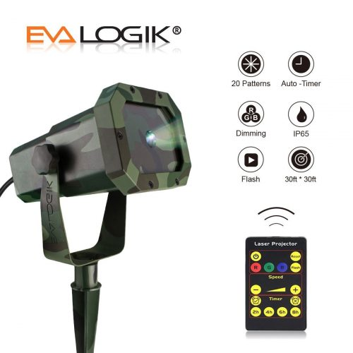 Outdoor Waterproof Laser Projector Light