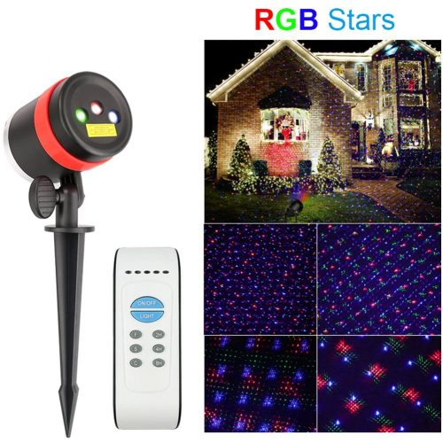 Christmas Lights Laser Projector