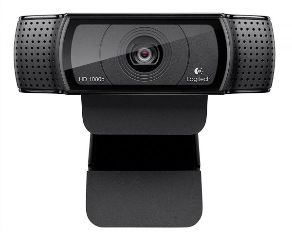 Logitech HD Pro Webcam C920, Widescreen Video Calling, and Recording, 1080p Camera, Desktop or Laptop Webcam