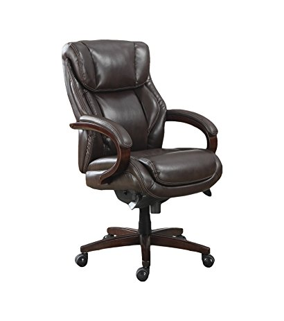 La-Z-Boy Bellamy Executive Bonded Leather Office Chair