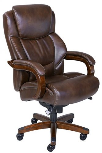 La-Z-Boy Delano Big and Tall Executive Bonded Leather Office Chair