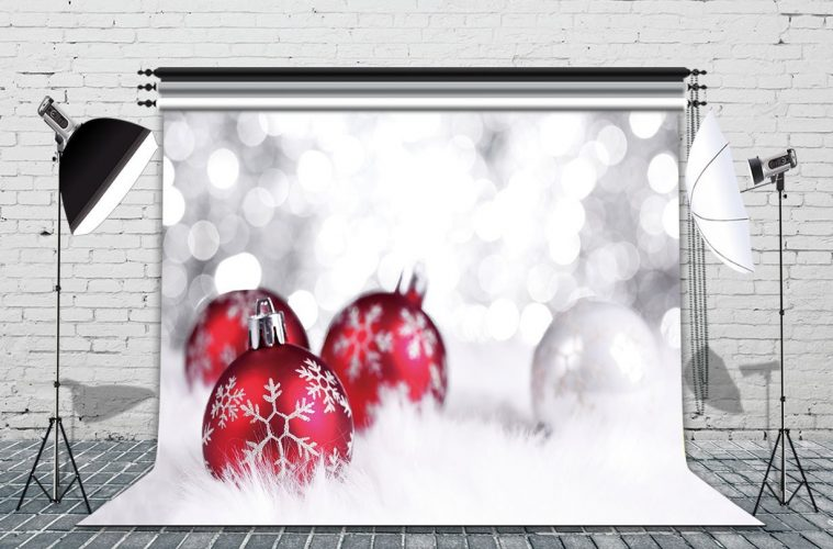 LB 7x5ft CHRISTMAS GIFT Poly Fabric Customized photography Backdrop Background studio prop SDJ57