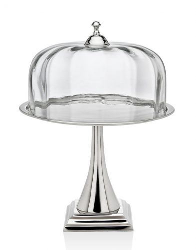 Godinger Pedestal Cake Stand with Dome