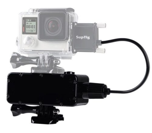 Suptig Waterproof External Battery Power Bank - GoPro External Batteries