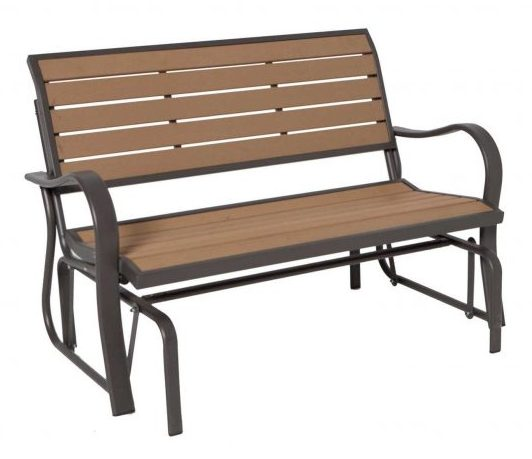 Lifetime Patio Glider -Patio Gliders bench