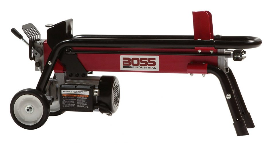 Boss Industrial Electric Powered Log Splitter