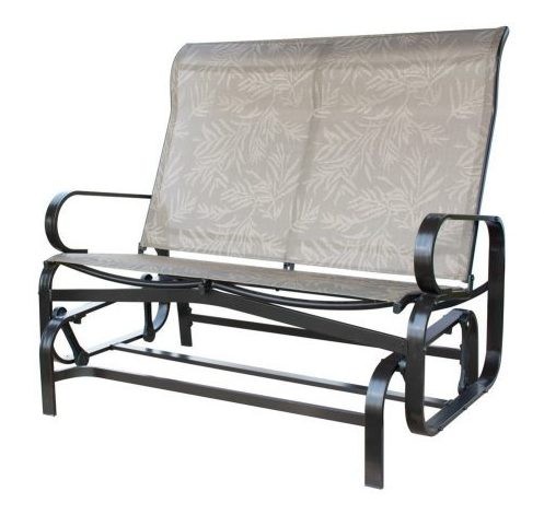 PatioPost Glider Loveseat Bench -Patio Gliders bench