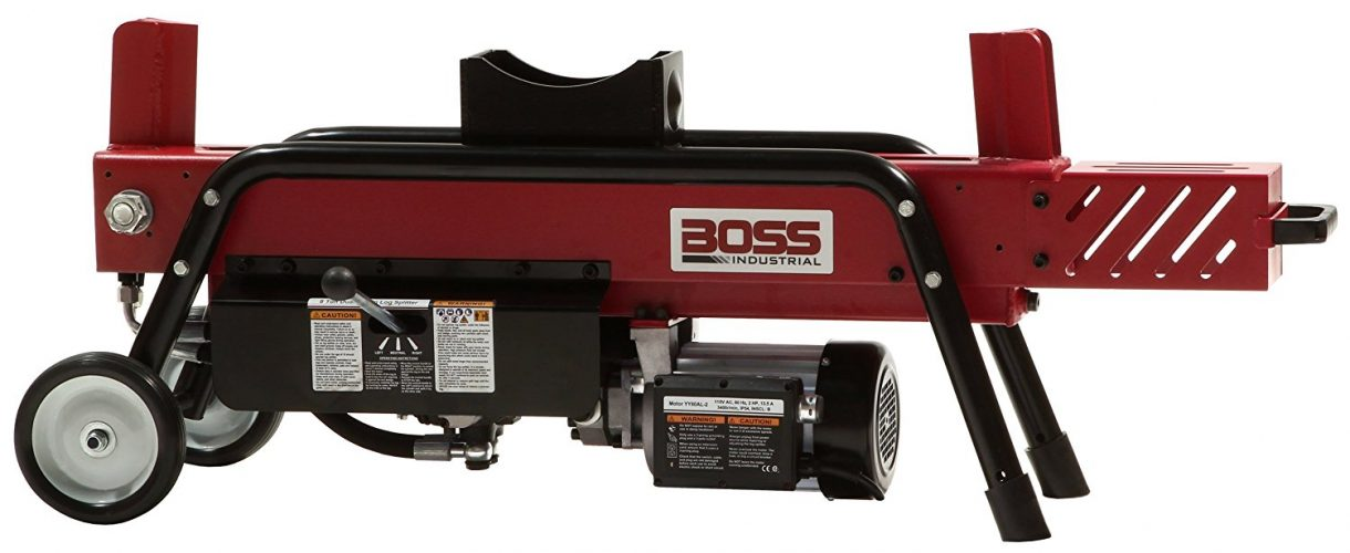 Boss Industrial Electric Log Splitter-Electric Log Splitters
