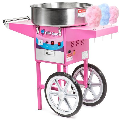 Olde Midway Commercial Fairy Floss Machine - Cotton Candy Makers