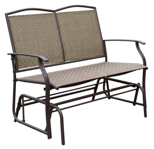 HollyHOME Porch Glider- Patio Gliders bench