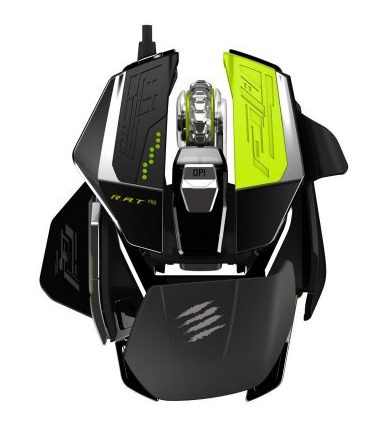 Mad Catz R.A.T. ProX Gaming Mouse-ergonomic mouse