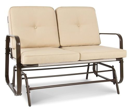Best Choice Loveseat Patio Glider - Patio Gliders bench