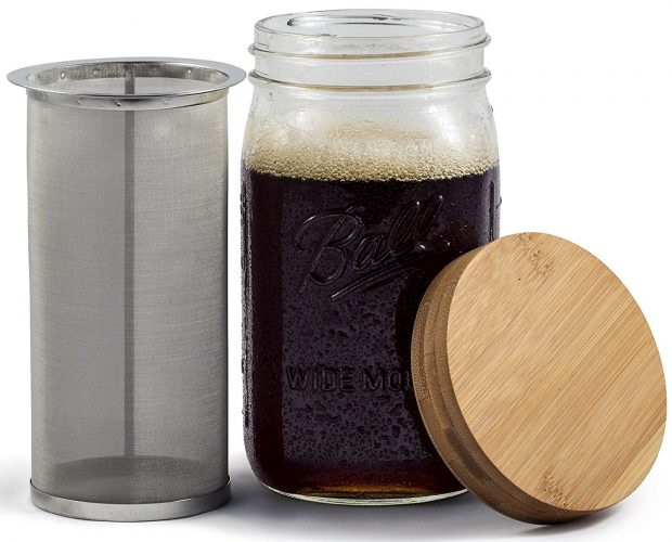 Mason JAR Cold Brew Coffee Maker