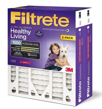 Filtrete MPR 1550 Furnace Filter