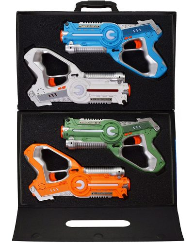 Dynasty Toys Laser Tag Set with Carrying Case