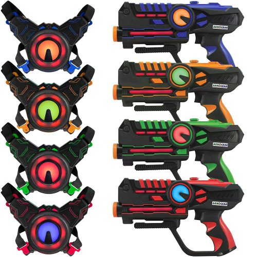 ArmoGear Laser Battle Mega Pack Set-Laser Tag Guns