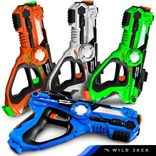 Wild Jack Four Infrared Laser Tag Guns