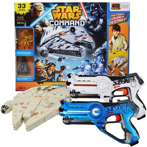 Star Wars Millennium Falcon Laser Tag Set