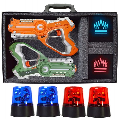 Dynasty Flag Glow Laser Tag Game