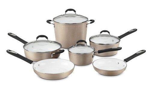 Cuisinart 10-Piece Cookware Set-ceramic cookware sets
