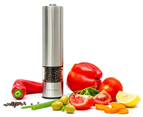 Enhance Spice Electric Pepper Grinder