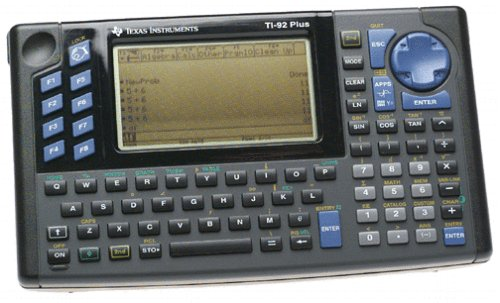 Texas Instruments TI-92 Plus-graphing calculators