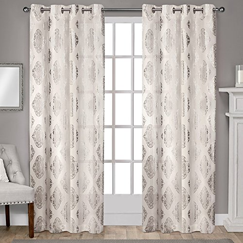 Exclusive Home Augustus Grommet Curtains-96-inch Curtains