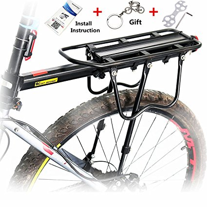 West Biking Adjustable Bike Rear Rack