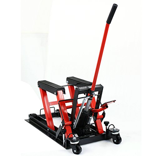 ZENY Hydraulic Motorcycle/ATV Hoist Jacks