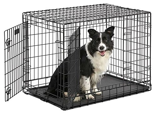 MidWest Ultima Pro Folding Dog Crate-metal dog crates