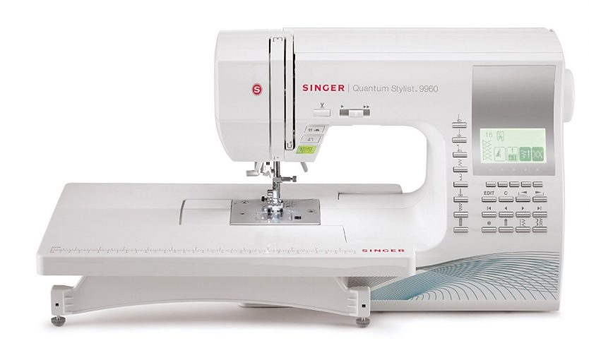 SINGER Quantum Stylist 9960 Sewing Machine-leather sewing machines