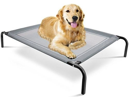 OxGord Portable Elevated Pet Bed