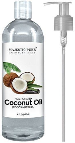 Majestic Pure Fractionated Coconut Oil-coconut oil products