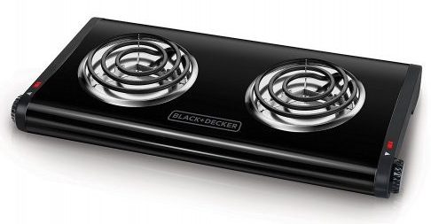 BLACK+DECKER Portable Stove Top