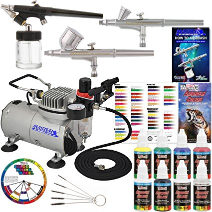 Master Airbrush Professional 3 Airbrush System