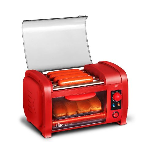 Elite Cuisine Maxi-Matic Hot Dog Toaster Oven