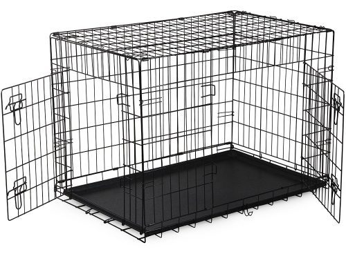 H&B Luxuries Folding Metal Pet Cage