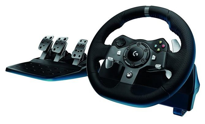 Logitech G920 Feedback Driving Force Racing Wheel