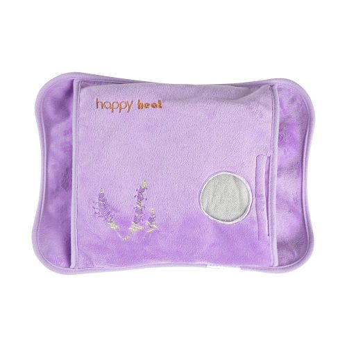Happy Heat Electric Hand Warmer, Rechargeable Heating Pad Pain Relief, Lavender