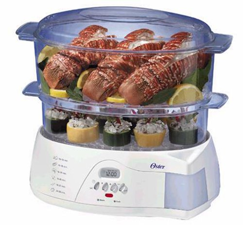 Oster Electronic Food Steamer - food steamers