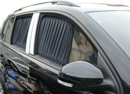 Bininbox Adjustable Car Window Curtains