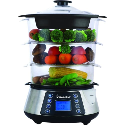 Magic Chef 3 Tier Food Steamer
