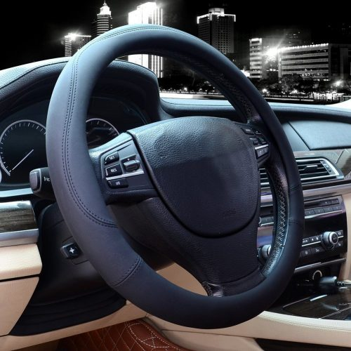 Valleycomfy Universal Car Steering Wheel Cover
