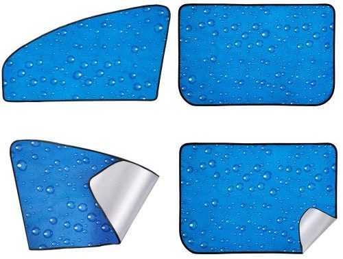 aokway Front and Rear Car Window Shade Set