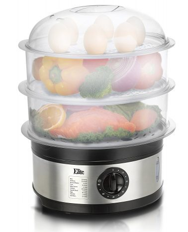 Elite Platinum 3-Tier Food Steamer